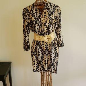 High-Low Hem Mini Dress